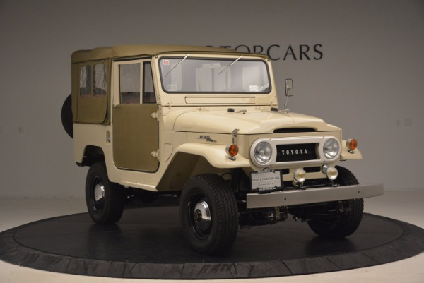 Used 1966 Toyota FJ40 Land Cruiser Land Cruiser for sale Sold at Aston Martin of Greenwich in Greenwich CT 06830 14