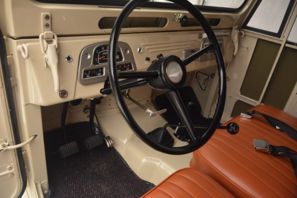 Used 1966 Toyota FJ40 Land Cruiser Land Cruiser for sale Sold at Aston Martin of Greenwich in Greenwich CT 06830 17