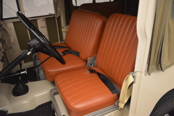 Used 1966 Toyota FJ40 Land Cruiser Land Cruiser for sale Sold at Aston Martin of Greenwich in Greenwich CT 06830 18