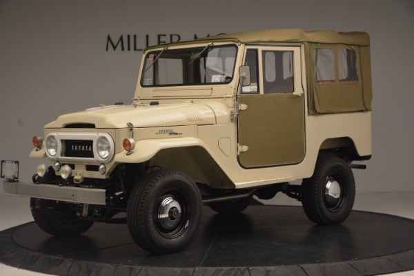 Used 1966 Toyota FJ40 Land Cruiser Land Cruiser for sale Sold at Aston Martin of Greenwich in Greenwich CT 06830 2