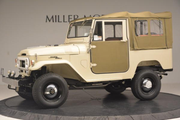 Used 1966 Toyota FJ40 Land Cruiser Land Cruiser for sale Sold at Aston Martin of Greenwich in Greenwich CT 06830 3