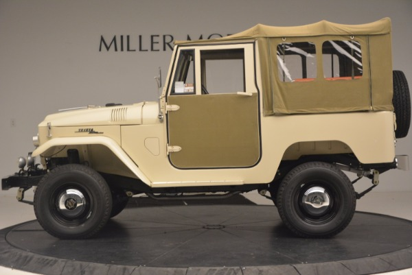 Used 1966 Toyota FJ40 Land Cruiser Land Cruiser for sale Sold at Aston Martin of Greenwich in Greenwich CT 06830 4