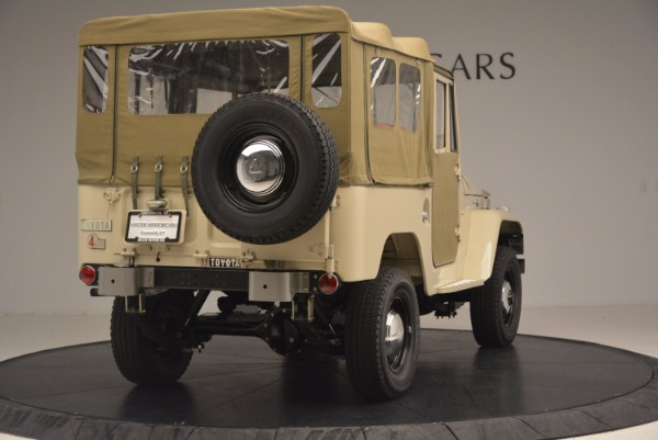 Used 1966 Toyota FJ40 Land Cruiser Land Cruiser for sale Sold at Aston Martin of Greenwich in Greenwich CT 06830 9