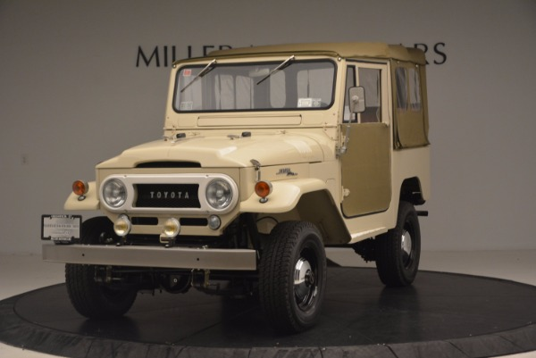Used 1966 Toyota FJ40 Land Cruiser Land Cruiser for sale Sold at Aston Martin of Greenwich in Greenwich CT 06830 1