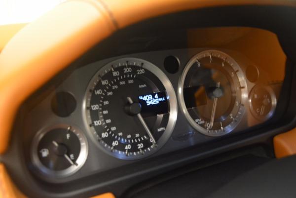 Used 2009 Aston Martin V8 Vantage for sale Sold at Aston Martin of Greenwich in Greenwich CT 06830 18