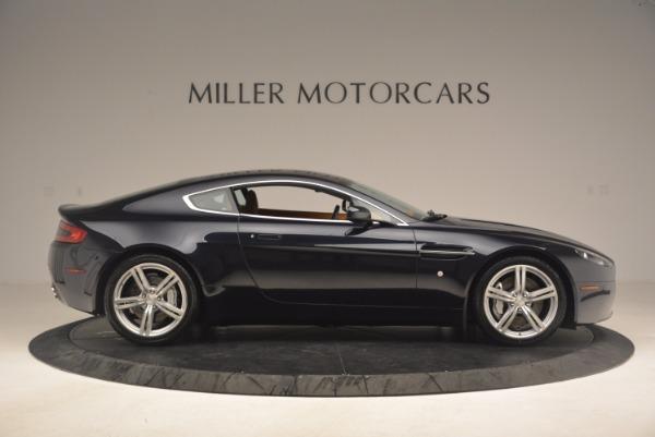 Used 2009 Aston Martin V8 Vantage for sale Sold at Aston Martin of Greenwich in Greenwich CT 06830 9