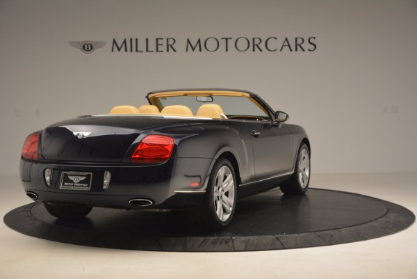 Used 2007 Bentley Continental GTC for sale Sold at Aston Martin of Greenwich in Greenwich CT 06830 7