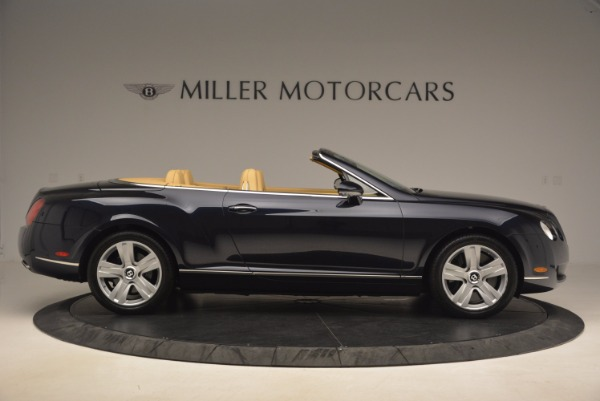 Used 2007 Bentley Continental GTC for sale Sold at Aston Martin of Greenwich in Greenwich CT 06830 9