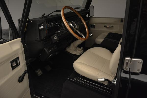 Used 1985 LAND ROVER Defender 110 for sale Sold at Aston Martin of Greenwich in Greenwich CT 06830 12