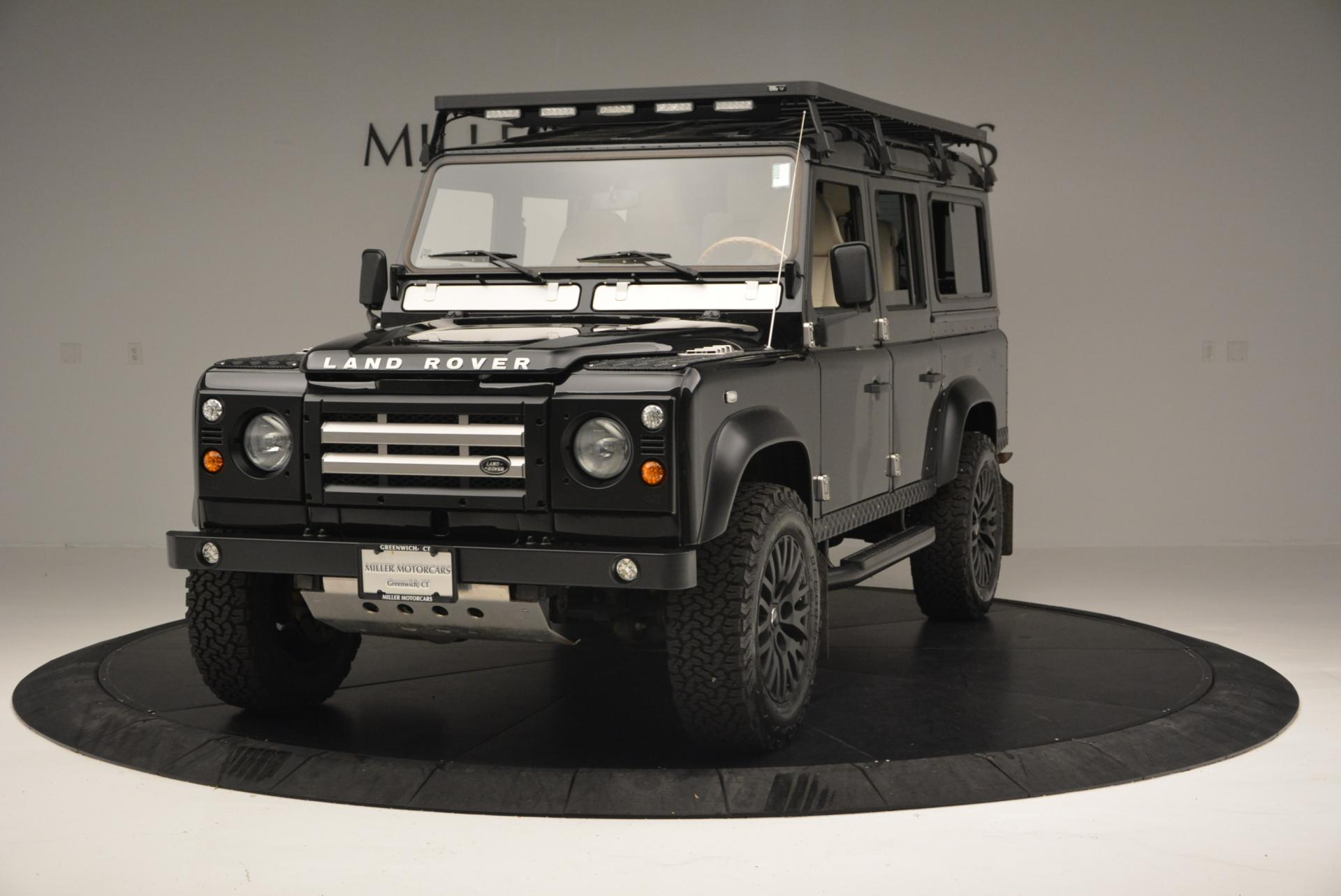 Used 1985 LAND ROVER Defender 110 for sale Sold at Aston Martin of Greenwich in Greenwich CT 06830 1