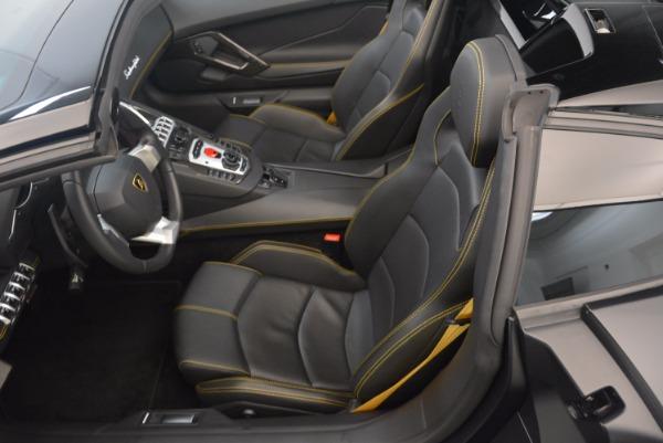 Used 2015 Lamborghini Aventador LP 700-4 for sale Sold at Aston Martin of Greenwich in Greenwich CT 06830 22