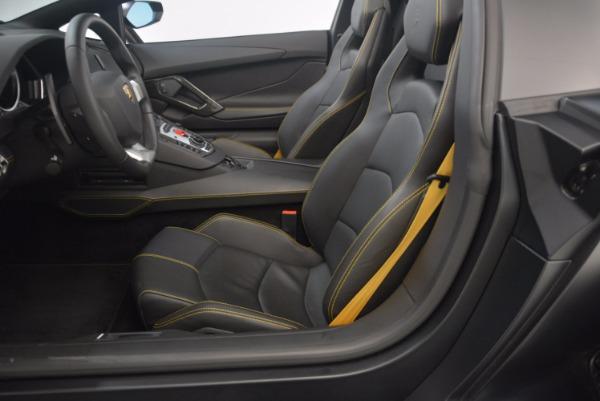Used 2015 Lamborghini Aventador LP 700-4 for sale Sold at Aston Martin of Greenwich in Greenwich CT 06830 24