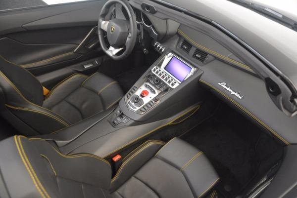 Used 2015 Lamborghini Aventador LP 700-4 for sale Sold at Aston Martin of Greenwich in Greenwich CT 06830 27