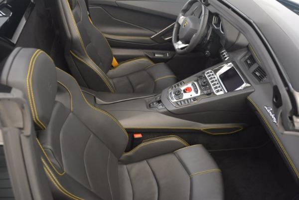 Used 2015 Lamborghini Aventador LP 700-4 for sale Sold at Aston Martin of Greenwich in Greenwich CT 06830 28