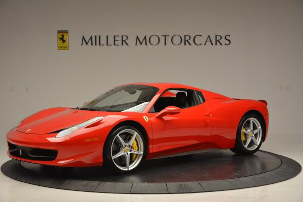Used 2014 Ferrari 458 Spider for sale Sold at Aston Martin of Greenwich in Greenwich CT 06830 14