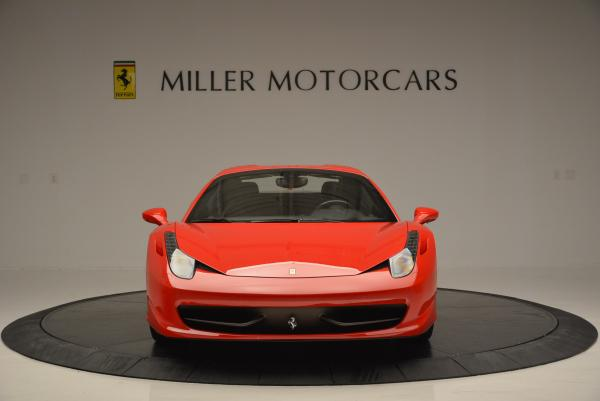 Used 2014 Ferrari 458 Spider for sale Sold at Aston Martin of Greenwich in Greenwich CT 06830 24