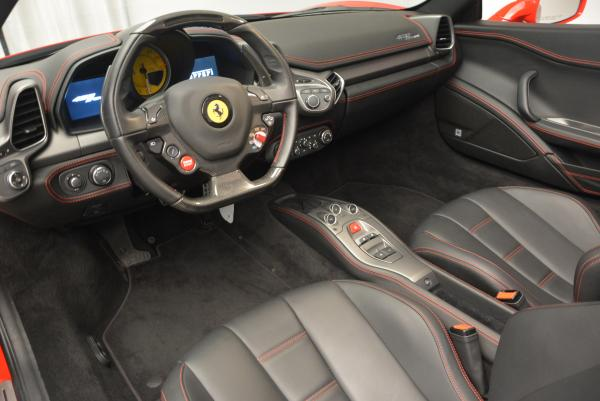 Used 2014 Ferrari 458 Spider for sale Sold at Aston Martin of Greenwich in Greenwich CT 06830 25