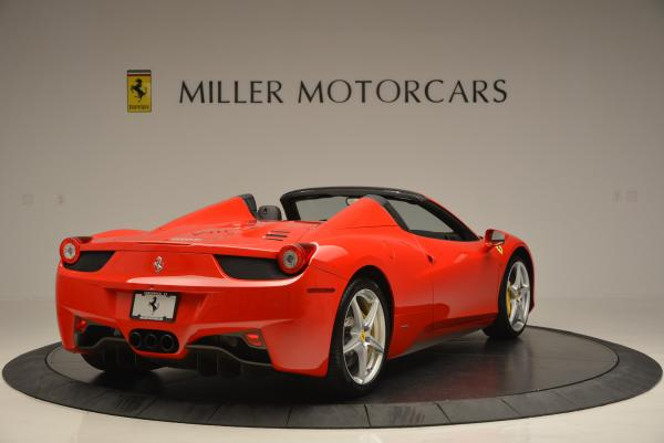 Used 2014 Ferrari 458 Spider for sale Sold at Aston Martin of Greenwich in Greenwich CT 06830 7