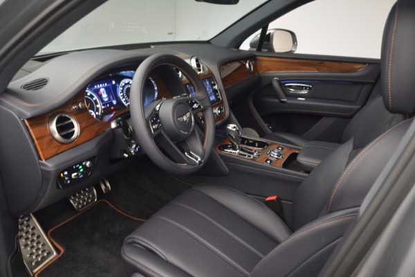 New 2018 Bentley Bentayga Onyx for sale Sold at Aston Martin of Greenwich in Greenwich CT 06830 25