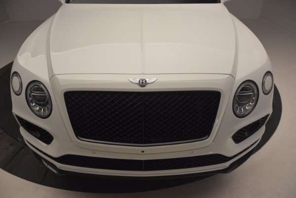 New 2018 Bentley Bentayga Black Edition for sale Sold at Aston Martin of Greenwich in Greenwich CT 06830 13