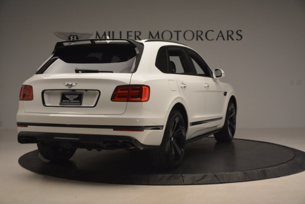 New 2018 Bentley Bentayga Black Edition for sale Sold at Aston Martin of Greenwich in Greenwich CT 06830 7