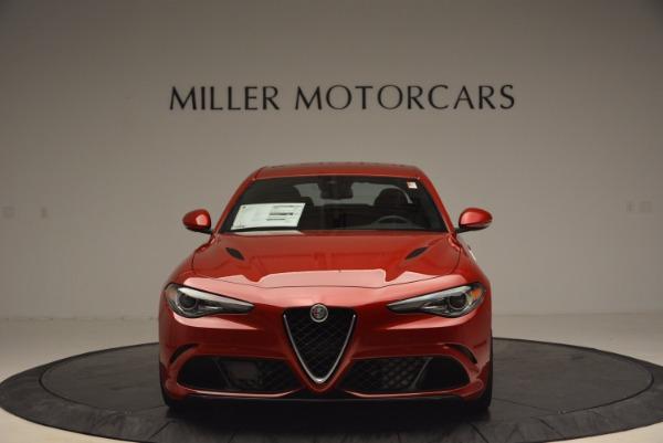 New 2017 Alfa Romeo Giulia Quadrifoglio Quadrifoglio for sale Sold at Aston Martin of Greenwich in Greenwich CT 06830 12