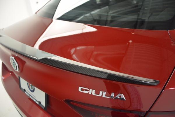 New 2017 Alfa Romeo Giulia Quadrifoglio Quadrifoglio for sale Sold at Aston Martin of Greenwich in Greenwich CT 06830 27
