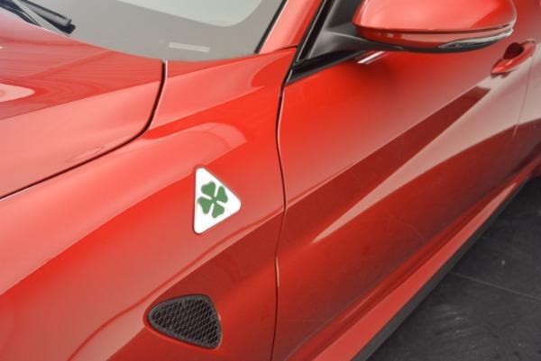 New 2017 Alfa Romeo Giulia Quadrifoglio Quadrifoglio for sale Sold at Aston Martin of Greenwich in Greenwich CT 06830 28