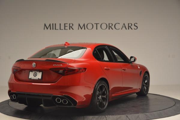 New 2017 Alfa Romeo Giulia Quadrifoglio Quadrifoglio for sale Sold at Aston Martin of Greenwich in Greenwich CT 06830 7