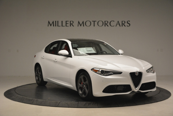 New 2017 Alfa Romeo Giulia Ti Q4 for sale Sold at Aston Martin of Greenwich in Greenwich CT 06830 13
