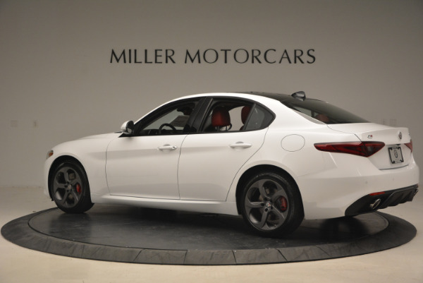 New 2017 Alfa Romeo Giulia Ti Q4 for sale Sold at Aston Martin of Greenwich in Greenwich CT 06830 6
