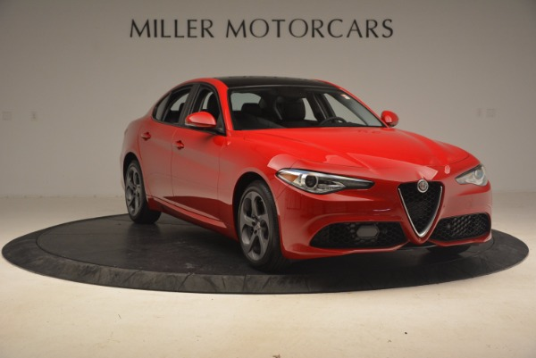 New 2017 Alfa Romeo Giulia Ti Sport Q4 for sale Sold at Aston Martin of Greenwich in Greenwich CT 06830 10