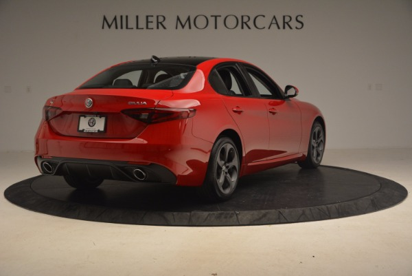 New 2017 Alfa Romeo Giulia Ti Sport Q4 for sale Sold at Aston Martin of Greenwich in Greenwich CT 06830 6
