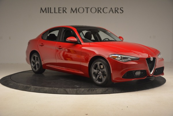 New 2017 Alfa Romeo Giulia Ti Sport Q4 for sale Sold at Aston Martin of Greenwich in Greenwich CT 06830 9