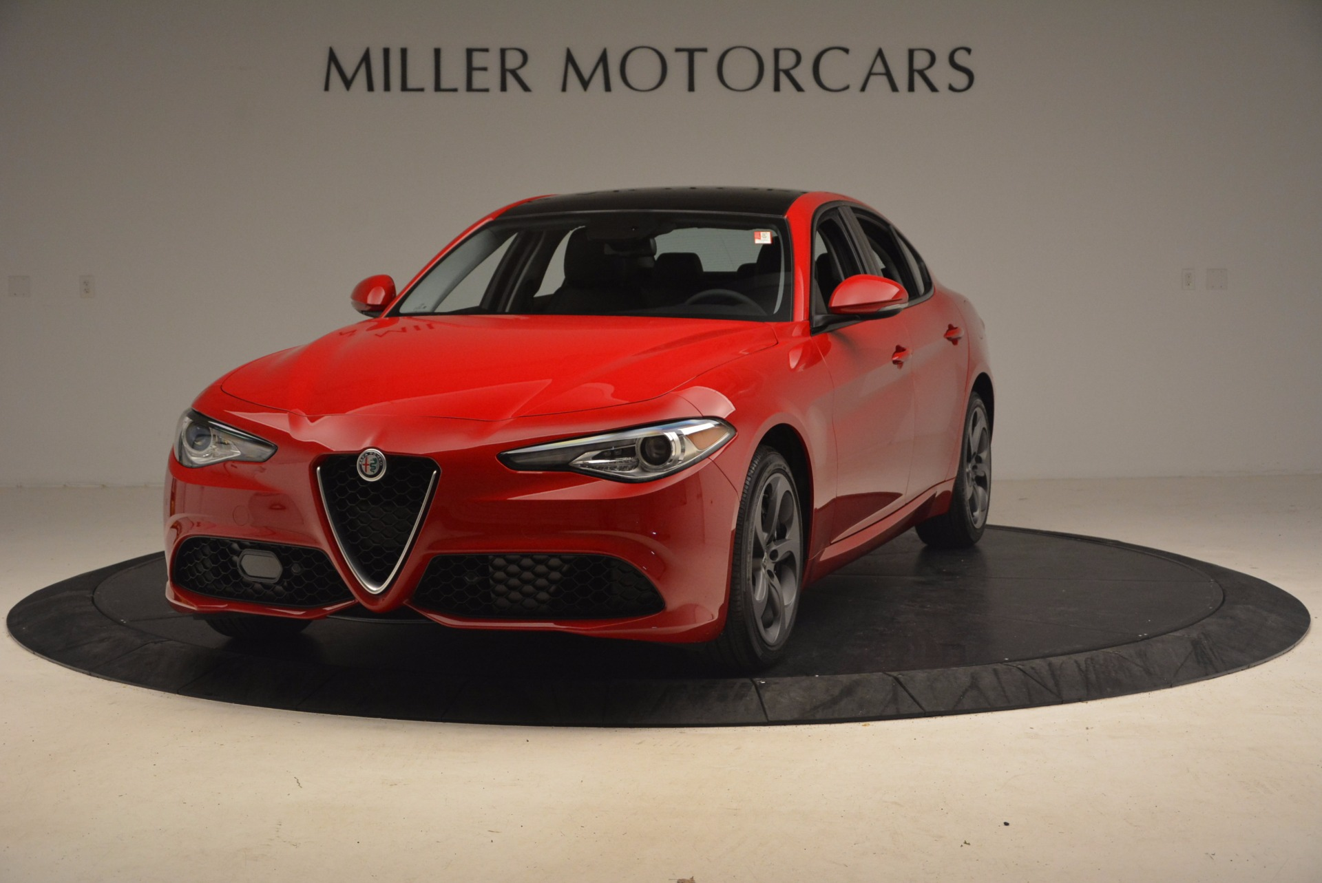New 2017 Alfa Romeo Giulia Ti Sport Q4 for sale Sold at Aston Martin of Greenwich in Greenwich CT 06830 1