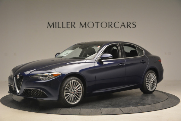 New 2017 Alfa Romeo Giulia Ti Q4 for sale Sold at Aston Martin of Greenwich in Greenwich CT 06830 2