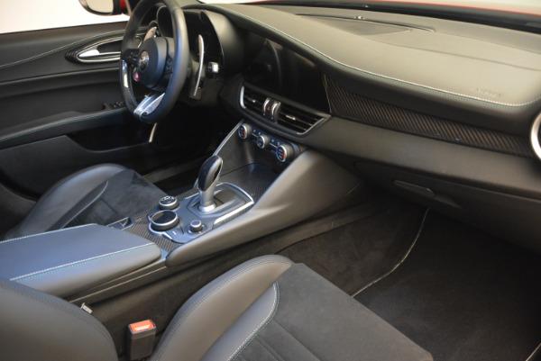 Used 2017 Alfa Romeo Giulia Quadrifoglio for sale Sold at Aston Martin of Greenwich in Greenwich CT 06830 21