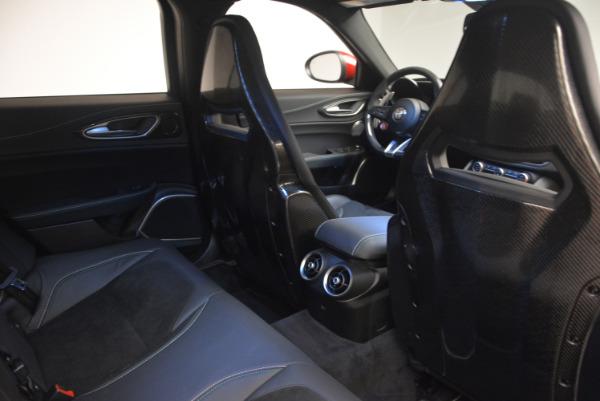 Used 2017 Alfa Romeo Giulia Quadrifoglio for sale Sold at Aston Martin of Greenwich in Greenwich CT 06830 25
