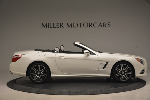 Used 2015 Mercedes Benz SL-Class SL 550 for sale Sold at Aston Martin of Greenwich in Greenwich CT 06830 10