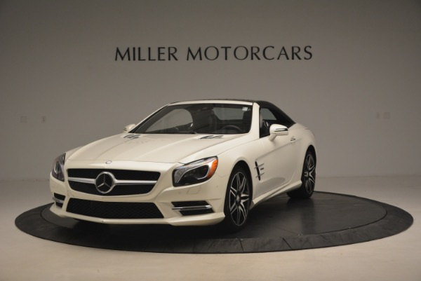 Used 2015 Mercedes Benz SL-Class SL 550 for sale Sold at Aston Martin of Greenwich in Greenwich CT 06830 15