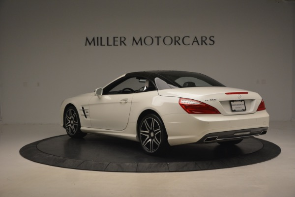 Used 2015 Mercedes Benz SL-Class SL 550 for sale Sold at Aston Martin of Greenwich in Greenwich CT 06830 19