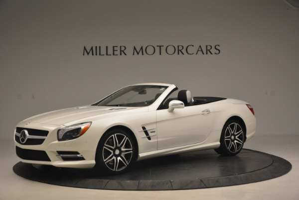 Used 2015 Mercedes Benz SL-Class SL 550 for sale Sold at Aston Martin of Greenwich in Greenwich CT 06830 2