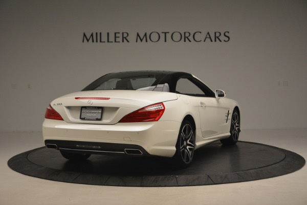 Used 2015 Mercedes Benz SL-Class SL 550 for sale Sold at Aston Martin of Greenwich in Greenwich CT 06830 21