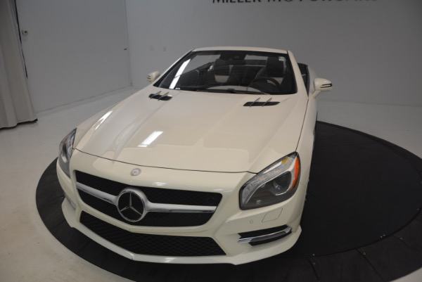Used 2015 Mercedes Benz SL-Class SL 550 for sale Sold at Aston Martin of Greenwich in Greenwich CT 06830 26