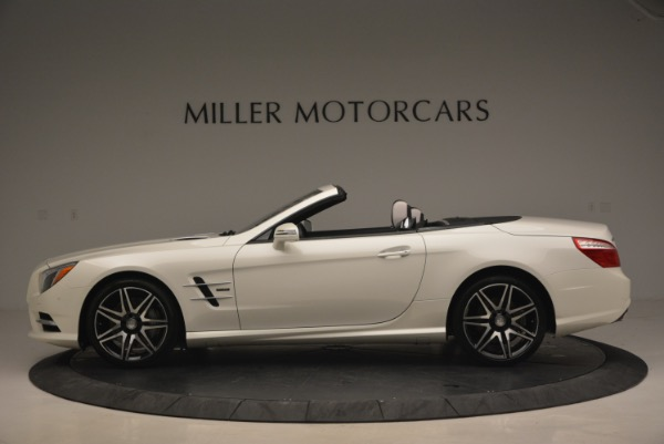 Used 2015 Mercedes Benz SL-Class SL 550 for sale Sold at Aston Martin of Greenwich in Greenwich CT 06830 3