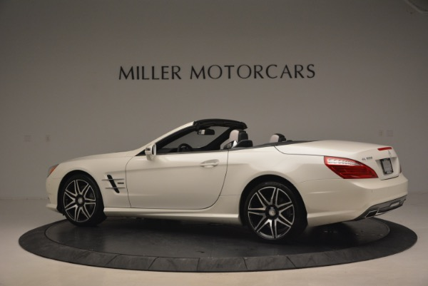 Used 2015 Mercedes Benz SL-Class SL 550 for sale Sold at Aston Martin of Greenwich in Greenwich CT 06830 4