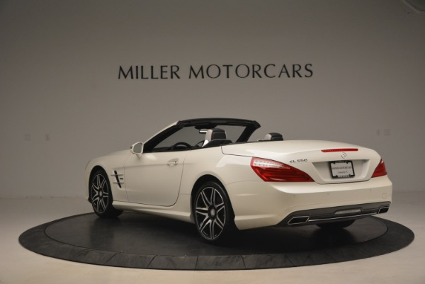 Used 2015 Mercedes Benz SL-Class SL 550 for sale Sold at Aston Martin of Greenwich in Greenwich CT 06830 5