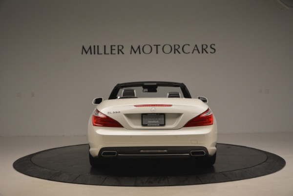Used 2015 Mercedes Benz SL-Class SL 550 for sale Sold at Aston Martin of Greenwich in Greenwich CT 06830 6