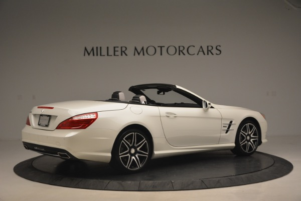 Used 2015 Mercedes Benz SL-Class SL 550 for sale Sold at Aston Martin of Greenwich in Greenwich CT 06830 8