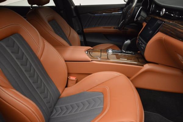 New 2017 Maserati Quattroporte S Q4 GranLusso for sale Sold at Aston Martin of Greenwich in Greenwich CT 06830 17